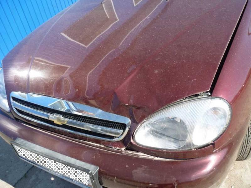фото 02 - кузовной ремонт и покраска автомобилей : легковой автомобиль Шевроле Ланос, ремонт авто проводился в...